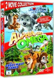 alpha og omega 2 + 3 - DVD