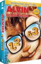 alvin og de frække jordegern 1-3 - DVD