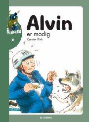 alvin er modig - bog