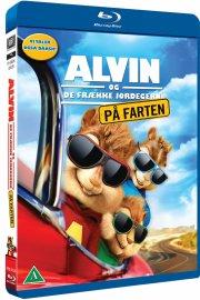 alvin og de frække jordegern 4 - på farten - Blu-Ray