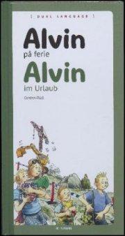 alvin på ferie - dansk/tysk - bog