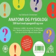 anatomi og fysiologi: 599 spørgsmål og svar - bog
