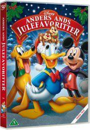 anders ands julefavoritter - disney - DVD