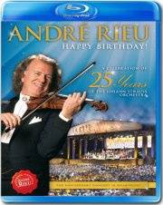 andré rieu - happy birthday! a celebration of 25 years of the johann strauss orchestra - Blu-Ray