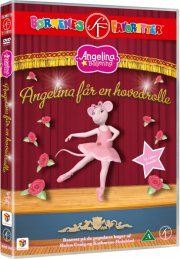 angelina ballerina 11 - angelina får en hovedrolle - DVD
