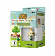 animal crossing: happy home designer + amiibo isabelle - nintendo 3ds