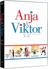 anja og viktor boks - alle 5 film - DVD
