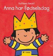 anna har fødselsdag - bog