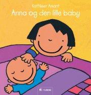 anna og den lille baby - bog