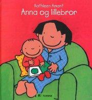 anna og lillebror - bog