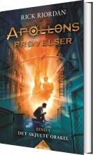 apollons prøvelser - det skjulte orakel - bog