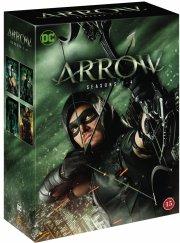 arrow - sæson 1-4 - DVD