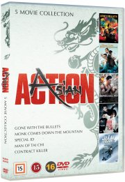 kampsportsfilm - asian action box - DVD