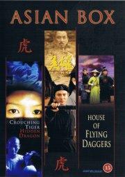 tiger på spring drage i skjul // hero // house of flying daggers - DVD