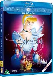 askepot / cinderella - disney  - blu-ray + dvd