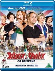 asterix og obelix - briterne 3d+2d - Blu-Ray