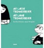 at læse tegneserier - at lave tegneserie - bog