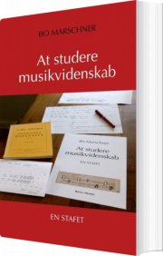 at studere musikvidenskab - bog