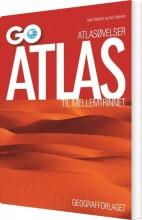 atlasøvelser: go atlas til mellemtrinnet - pakke á 25 stk - bog