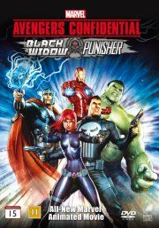 avengers confidential: black widow and punisher - DVD