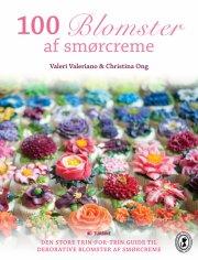 100 blomster af smørcreme - bog