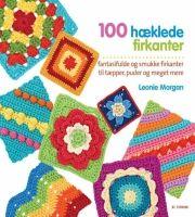 100 hæklede firkanter - bog