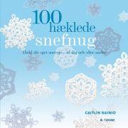 100 hæklede snefnug - bog