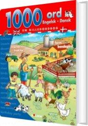 1000 ord: engelsk - dansk - bog