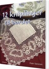 12 kniplinger til bordet - bog