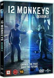 12 monkeys - sæson 2 - DVD