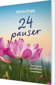 24 pauser - bog