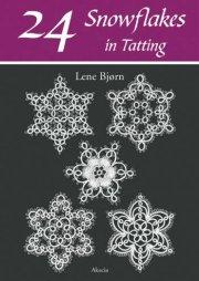 24 snowflakes in tatting - bog