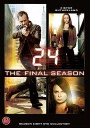 24 timer - sæson 8 - den sidste sæson - DVD