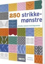 250 strikkemønstre - bog