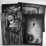 30 uhyggelige kort - bog