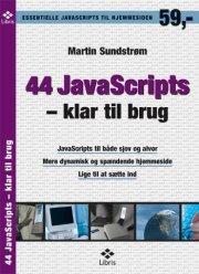44 javascripts - klar til brug - bog