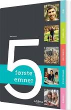 5 første emner - bog