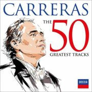 josé carreras - 50 greatest tracks - cd