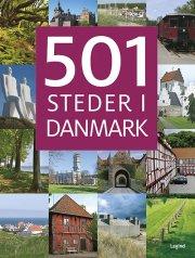 501 steder i danmark - bog