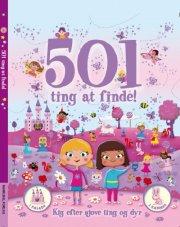 501 ting at finde - pige - bog