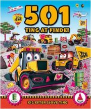 501 ting at finde - mega maskiner - bog