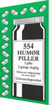 554 humørpiller - bog