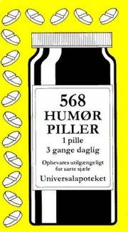 568 humørpiller - bog