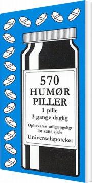 570 humørpiller - bog