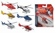 6 majorette helikoptere - asst.13cm - Køretøjer Og Fly