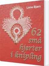 62 små hjerter i knipling - bog