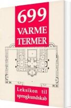 699 varme termer - bog