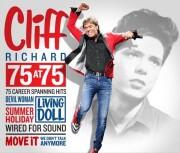 cliff richard - 75 at 75 - 75 career spanning hits - cd