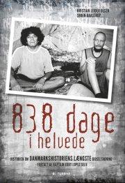 838 dage i helvede - bog