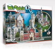 3d puslespil neuschwanstein slot - 890 brikker - wrebbit - Brætspil